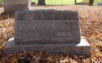 DANIELS, MINNIE SENFT - Gallia County, Ohio | MINNIE SENFT DANIELS - Ohio Gravestone Photos