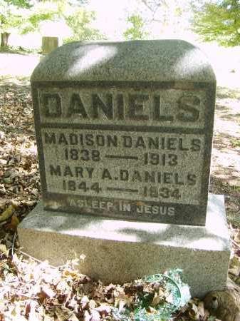 DANIELS, MADISON - Gallia County, Ohio | MADISON DANIELS - Ohio Gravestone Photos