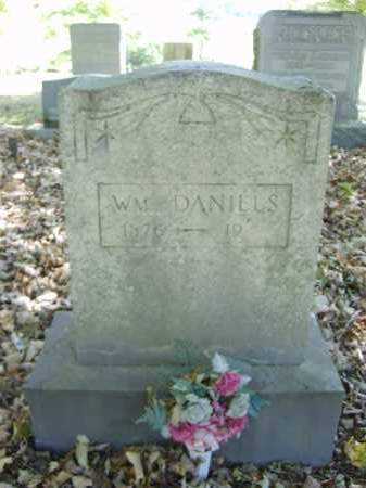 DANIELS, WILLIAM - Gallia County, Ohio | WILLIAM DANIELS - Ohio Gravestone Photos
