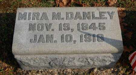 DANLEY, MIRA M - Gallia County, Ohio | MIRA M DANLEY - Ohio Gravestone Photos