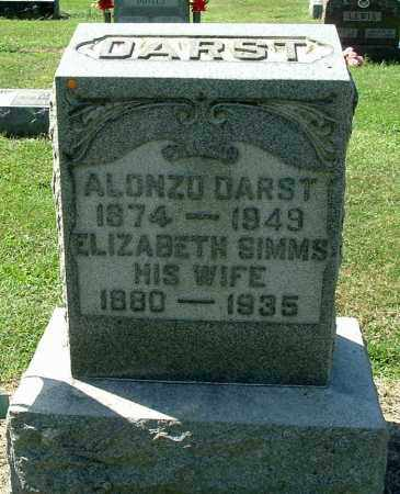DARST, ELIZABETH MAY - Gallia County, Ohio | ELIZABETH MAY DARST - Ohio Gravestone Photos