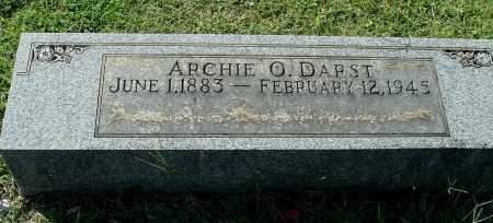 DARST, ARCHIE O - Gallia County, Ohio | ARCHIE O DARST - Ohio Gravestone Photos