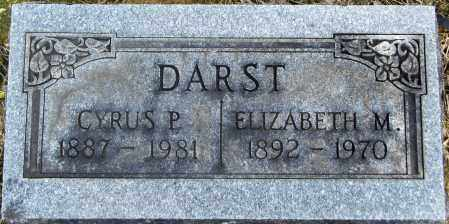THOMAS DARST, ELIZABETH - Gallia County, Ohio | ELIZABETH THOMAS DARST - Ohio Gravestone Photos