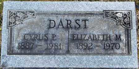 DARST, CYRUS - Gallia County, Ohio | CYRUS DARST - Ohio Gravestone Photos