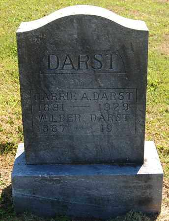 DARST, CARRIE A - Gallia County, Ohio | CARRIE A DARST - Ohio Gravestone Photos