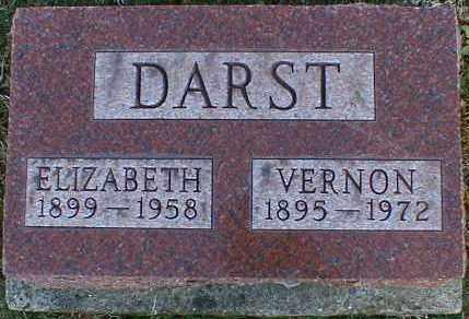 DARST, ELIZABETH - Gallia County, Ohio | ELIZABETH DARST - Ohio Gravestone Photos