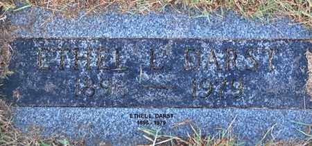 DARST, ETHEL L. - Gallia County, Ohio | ETHEL L. DARST - Ohio Gravestone Photos