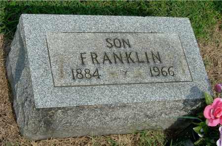 DARST, FRANKLIN - Gallia County, Ohio | FRANKLIN DARST - Ohio Gravestone Photos