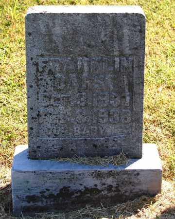 DARST, FRANKLIN - Gallia County, Ohio | FRANKLIN DARST - Ohio Gravestone Photos