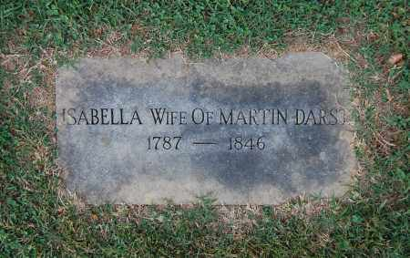 DARST, ISABELLA - Gallia County, Ohio | ISABELLA DARST - Ohio Gravestone Photos