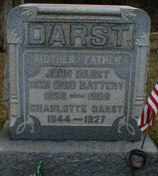 DARST, JOHN - Gallia County, Ohio | JOHN DARST - Ohio Gravestone Photos