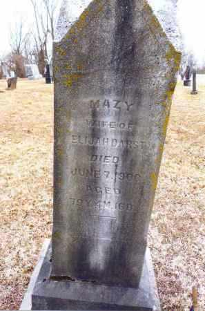 "HALFHILL DARST, MARY ""MAZY"" - Gallia County, Ohio 