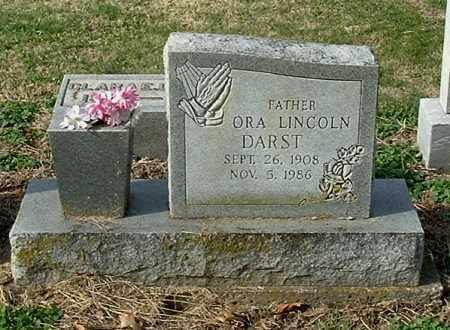 DARST, ORA LINCOLN - Gallia County, Ohio | ORA LINCOLN DARST - Ohio Gravestone Photos