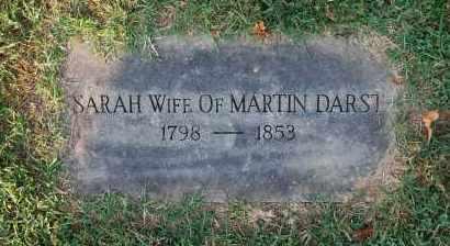 DARST, SARAH - Gallia County, Ohio | SARAH DARST - Ohio Gravestone Photos
