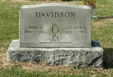 DAVIDSON, ELEANOR V - Gallia County, Ohio | ELEANOR V DAVIDSON - Ohio Gravestone Photos