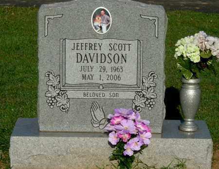 DAVIDSON, JEFFREY SCOTT - Gallia County, Ohio | JEFFREY SCOTT DAVIDSON - Ohio Gravestone Photos