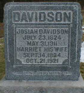 DAVIDSON, JOSIAH - Gallia County, Ohio | JOSIAH DAVIDSON - Ohio Gravestone Photos