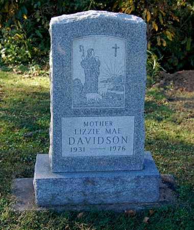 DAVIDSON, LIZZIE MAE - Gallia County, Ohio | LIZZIE MAE DAVIDSON - Ohio Gravestone Photos