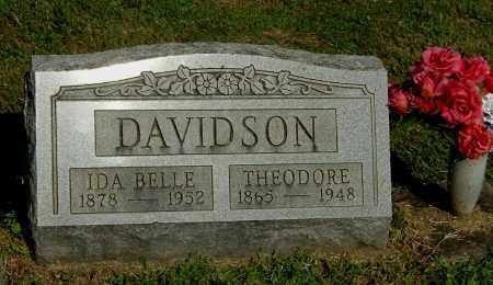 DAVIDSON, IDA BELLE - Gallia County, Ohio | IDA BELLE DAVIDSON - Ohio Gravestone Photos