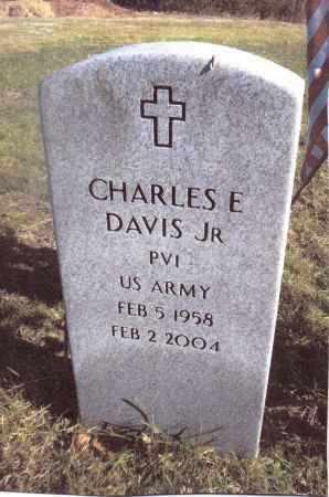 DAVIS, CHARLES E. - Gallia County, Ohio | CHARLES E. DAVIS - Ohio Gravestone Photos