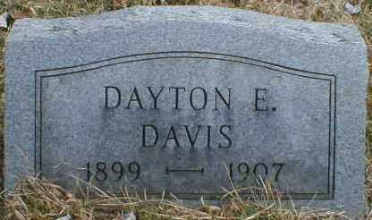 DAVIS, DAYTON - Gallia County, Ohio | DAYTON DAVIS - Ohio Gravestone Photos