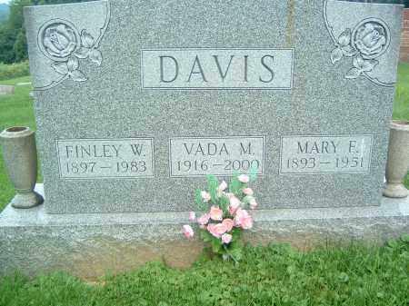 DAVIS, FINLEY W. - Gallia County, Ohio | FINLEY W. DAVIS - Ohio Gravestone Photos