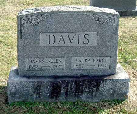 DAVIS, JAMES ALLEN - Gallia County, Ohio | JAMES ALLEN DAVIS - Ohio Gravestone Photos