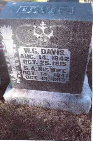DAVIS, W.G.[WILLIAM GLENN] - Gallia County, Ohio | W.G.[WILLIAM GLENN] DAVIS - Ohio Gravestone Photos