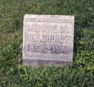DEARDORFF, MINNIE - Gallia County, Ohio | MINNIE DEARDORFF - Ohio Gravestone Photos