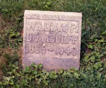 DEARDORFF, WILLIAM PETER - Gallia County, Ohio | WILLIAM PETER DEARDORFF - Ohio Gravestone Photos