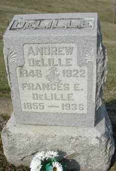 DELILLE, ANDREW - Gallia County, Ohio | ANDREW DELILLE - Ohio Gravestone Photos