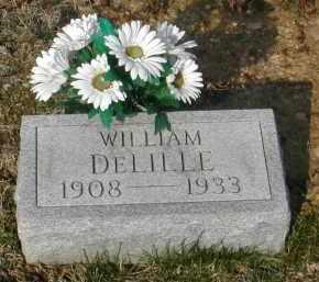 DELILLE, WILLIAM - Gallia County, Ohio | WILLIAM DELILLE - Ohio Gravestone Photos