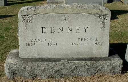 DENNEY, DAVID H - Gallia County, Ohio | DAVID H DENNEY - Ohio Gravestone Photos
