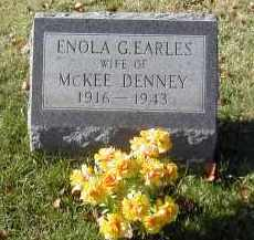 EARLES DENNEY, ENOLA - Gallia County, Ohio | ENOLA EARLES DENNEY - Ohio Gravestone Photos