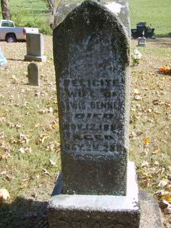 DENNEY, FELICITE - Gallia County, Ohio | FELICITE DENNEY - Ohio Gravestone Photos