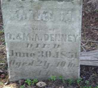 DENNEY, MANDEL M. - Gallia County, Ohio | MANDEL M. DENNEY - Ohio Gravestone Photos