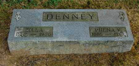 DENNEY, ZILLA - Gallia County, Ohio | ZILLA DENNEY - Ohio Gravestone Photos