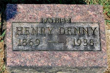 DENNY, HENRY - Gallia County, Ohio | HENRY DENNY - Ohio Gravestone Photos