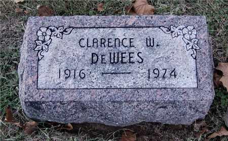 DEWEES, CLARENCE W - Gallia County, Ohio | CLARENCE W DEWEES - Ohio Gravestone Photos