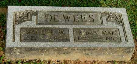 DEWEES, EMMA MAE - Gallia County, Ohio | EMMA MAE DEWEES - Ohio Gravestone Photos