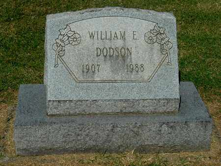 DODSON, WILLIAM E - Gallia County, Ohio | WILLIAM E DODSON - Ohio Gravestone Photos