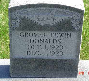DONALDS, GROVER - Gallia County, Ohio | GROVER DONALDS - Ohio Gravestone Photos