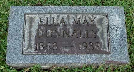 LEONARD DONNALLY, ELLA MAY - Gallia County, Ohio | ELLA MAY LEONARD DONNALLY - Ohio Gravestone Photos