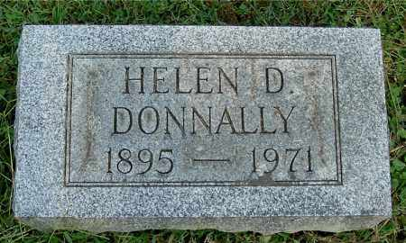 DONNALLY, HELEN D - Gallia County, Ohio | HELEN D DONNALLY - Ohio Gravestone Photos