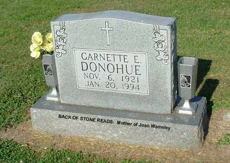 DONOHUE, GARNETTE E - Gallia County, Ohio | GARNETTE E DONOHUE - Ohio Gravestone Photos