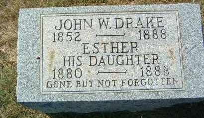 DRAKE, ESTHER - Gallia County, Ohio | ESTHER DRAKE - Ohio Gravestone Photos