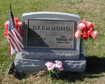 DRUMMOND, THELMA - Gallia County, Ohio | THELMA DRUMMOND - Ohio Gravestone Photos
