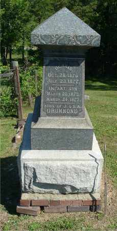 DRUMMOND, DENNIS - Gallia County, Ohio | DENNIS DRUMMOND - Ohio Gravestone Photos
