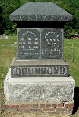 DENNIS DRUMMOND, SARAH A - Gallia County, Ohio | SARAH A DENNIS DRUMMOND - Ohio Gravestone Photos