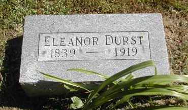 DURST, ELEANOR - Gallia County, Ohio | ELEANOR DURST - Ohio Gravestone Photos